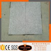 Outdoor floor tile G603 dark grey flamed granite interlocking paving stones