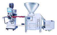 halal meat chicken sausage making machine/sausage production line