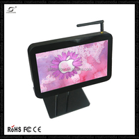 10'1 inch small size lcd tv display monitor media advertising minitior taxi headres