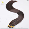 Wholesale top quality russian blonde hair 100% virgin human hair i tip keratin hair extension