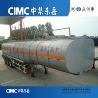CIMC Factory Manufactured Liquid Natural Gas Tanker Transports Truck Trailers