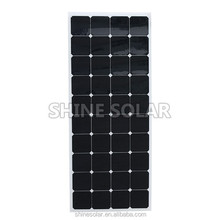 flexible solar mobile phone charger 120W 135W solar panel for boat,caravan
