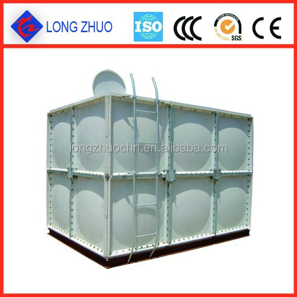 FRP water storage containers, Square water tank, SMC material water tanks