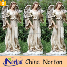 Resin new craft virgin mary statue garden decoration NTRS-CS014Y