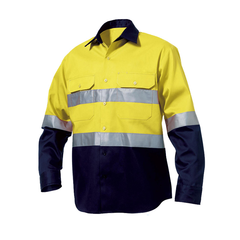 Wholesale high visibility garments online buy best high for Hi vis shirts with reflective tape