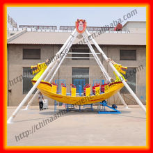 Attractions kiddie rides China flying toy Sea dragon pirate ship