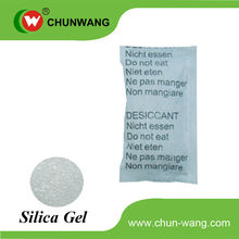 packed with silicon bag for desiccant moisture absorbent