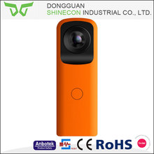 Shinecon mini rectangle wireless cctv 360 panoramic camera