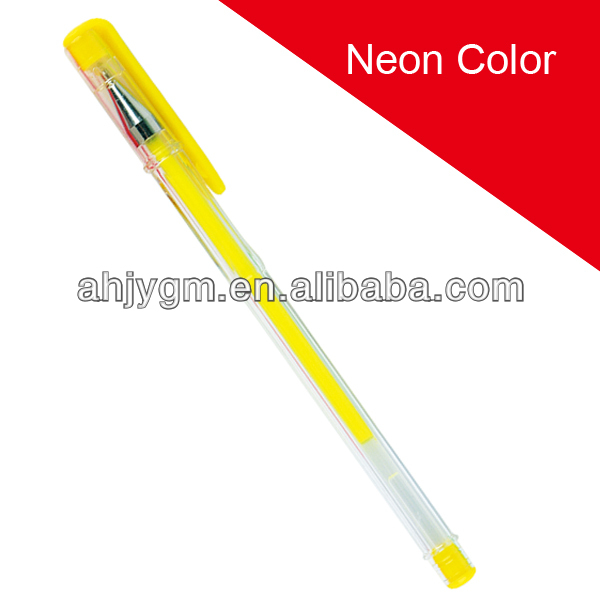 Pastel Color Hot Sale Gel Pen-RH1004/color gel ink pen.
