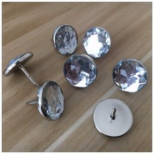 China wholesale acrylic button decorative covered button