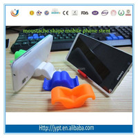 beard shape mobile phone Silicone Stand Holder