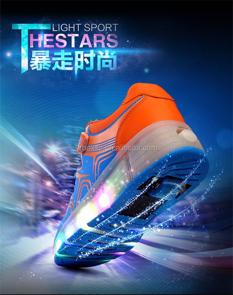 LED Light Flash Fashion Leisure Sports Shoes Battery Operated LED Shoes Light