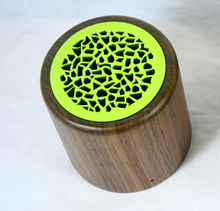 Smart music portable mini wooden speaker bluetooth for home theater