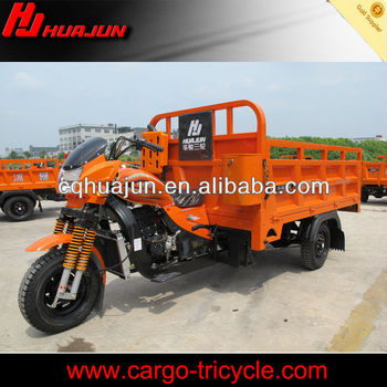 water cooled cargo motorcycle/closed cargo box tricycle