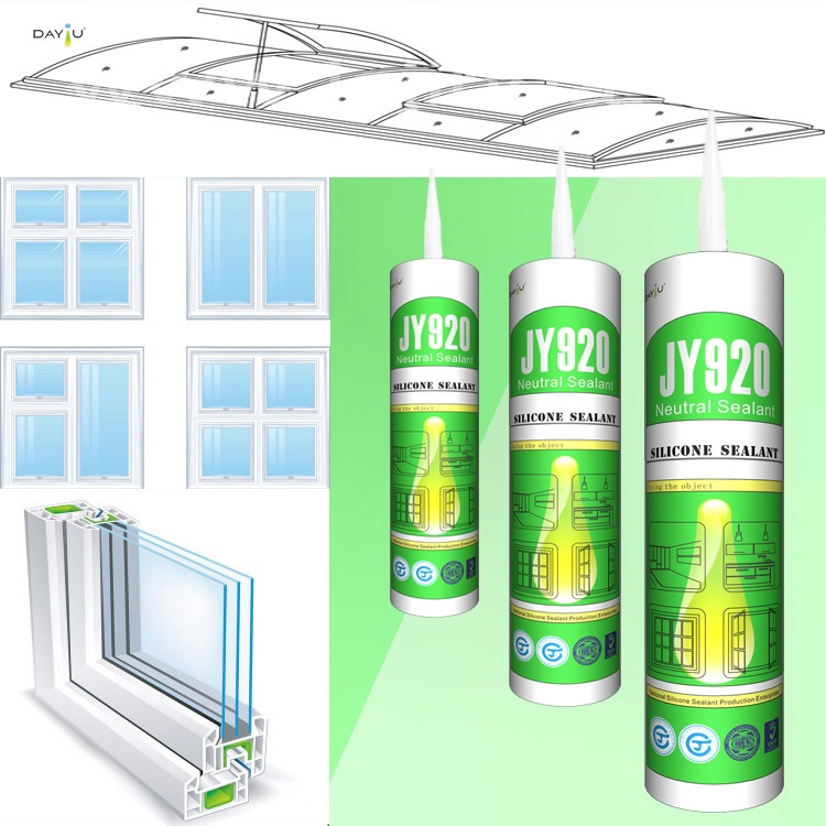 High quality JY920 neutral silicone caulking sealant for window and door