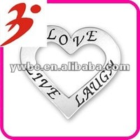 hand made alloy antisilver love live laugh charms jewelry pendant(185565)