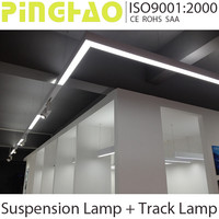 LED suspension lamp + LED track lamp ROHS SAA CE Combination lights