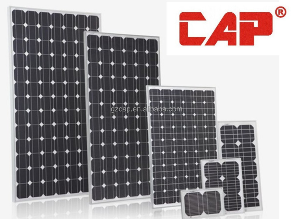 A grade quality monocrystalline polycrystalline solar panel for home solar systems