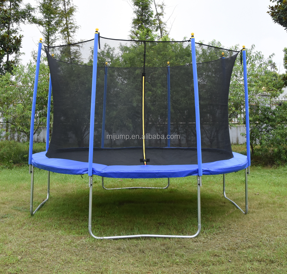 2016 Newest GS standards Fitness 10ft Trampoline with Safety Enclosure