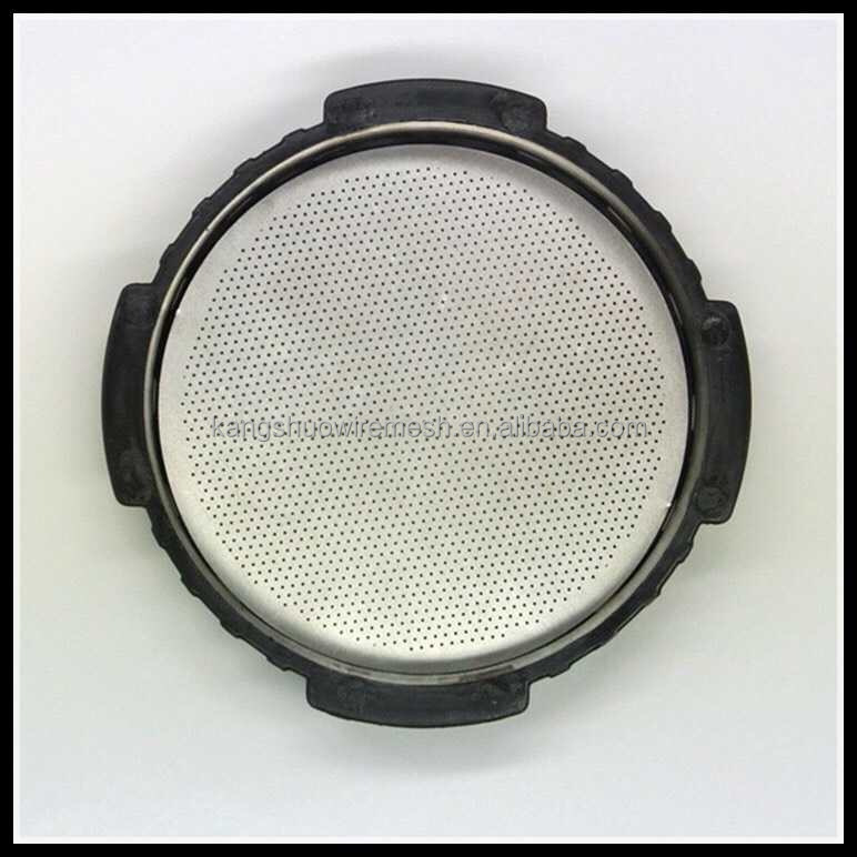 coffe filter disc stainless steel wire mesh filter