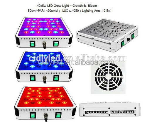 garden greenhouse 5w led grow lanp 200watt led grow lights home growers use