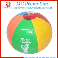 Inflatable earth globe beach ball with logo printing