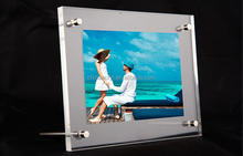 transparent individual multi function acrylic photo frames
