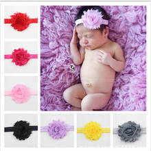 Baby Infant Big Head Flower Headband Flower Hair Band Headwear Headband