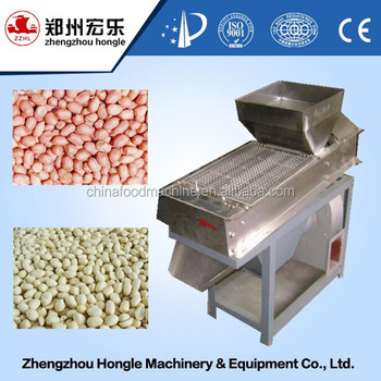 HLTA dry method peanut peeling machine