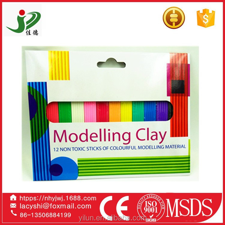 18 Colors Magnetic toy Modeling Air Dry Polymer soft Clay