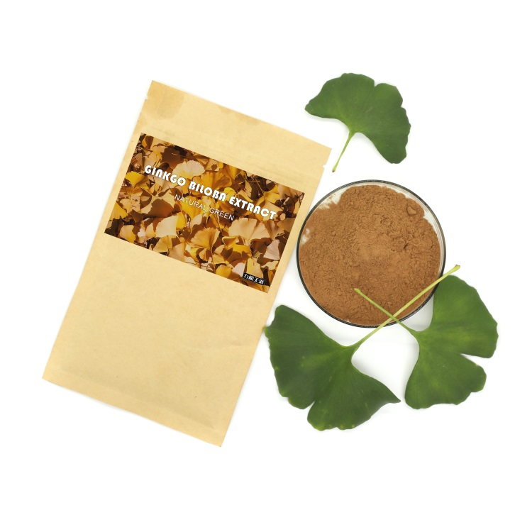 Pure Natural plant extract powder extract of ginkgo biloba leaves tablets