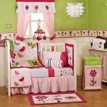China supplier 4pcs patchwork wholesale baby girl bedding set crib baby bedding set