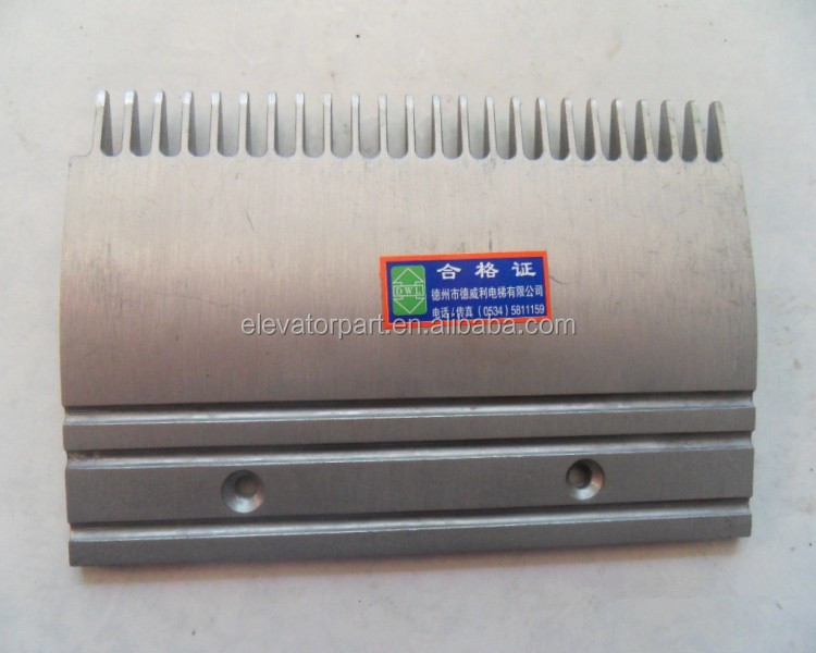 Escalator parts/escalator aluminum comb plate