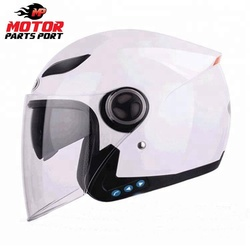 Safety Bluetooth Half Face Helmet With DOT ECE Approved