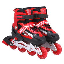 2016 hot sale Roller Derby girl's boy's /kids Adjustable Roller Skate, Pink/red/bule