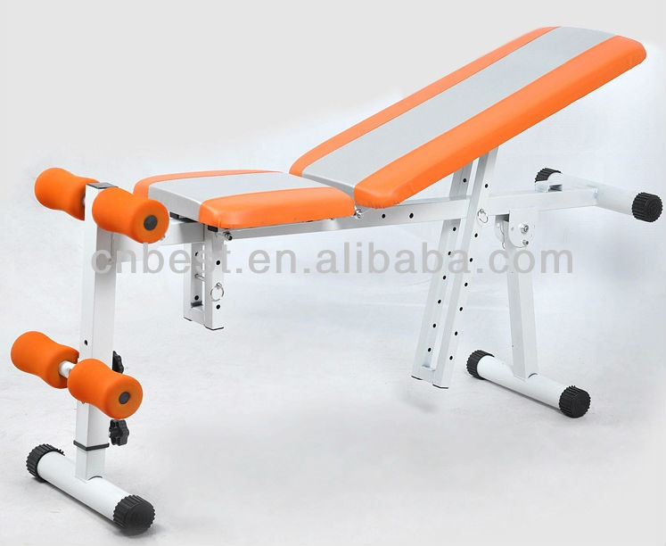 BST JS-005D ab abdominal bench fitness equipment names of exercise machines for adults