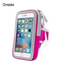 Popular Mobile Phone cycling running Arm Bags cell phone bag for girls