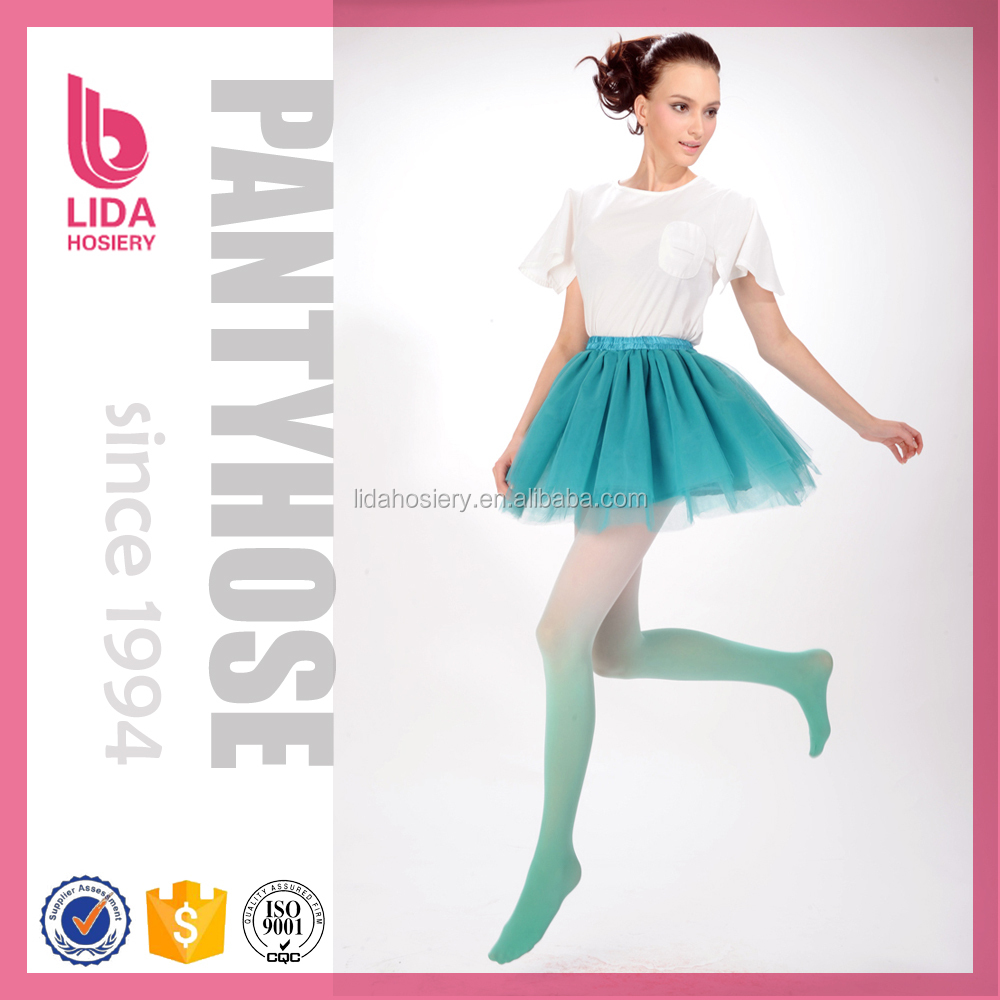 Fashion Candy Colorful Silk Tube Pantyhose
