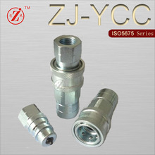 ZJ-YCC ISO 5675 hydraulic tools quick release coupling