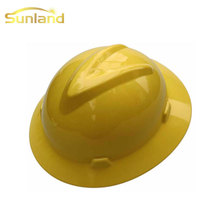 Durable industrial full brim safety helmets wholesale