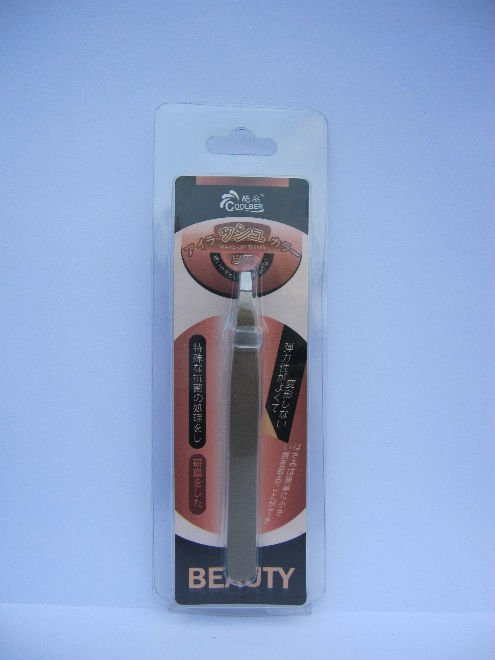COOLBER Flat Cusp Cosmetic Eyebrow Tweezers