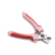 Factory hot Professional dog nail scissors dog products pet grooming Stainless steel hacksaw blades with Non-slip rubber handle