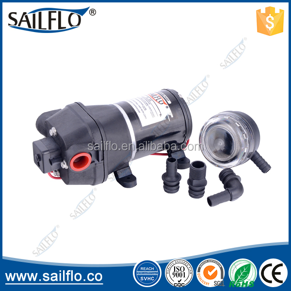 Sailflo17L/min water pressure pump/ electric marine & booster shower & RV diaphragm water pumps