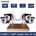 home security 4ch wireless securiry NVR kit 4.0mp ip camera