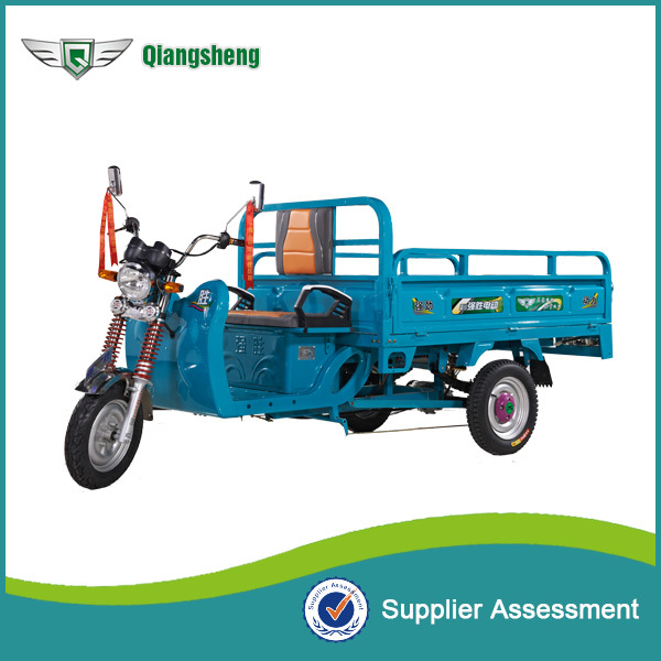 Electric three wheel cargo loading motorcycle tricycle on sales