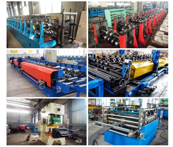 Punching Holes Adjustable Scaffold Roll Forming Machine