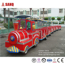 Amusement Electric Outdoor Train Sets From Factory Directly With Competitive price