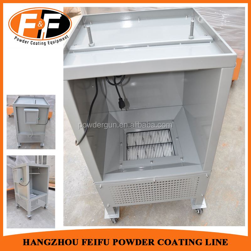 Promotion! Electrostatic Mini Powder Coating Equipment Paint Booth