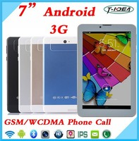 New Design 7 Inch 3G Tablet With Sim Card Slot, 3G Tablet With Wifi GPS FM Bluetooth