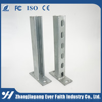 Solar Channel Structure Metal C Bracket